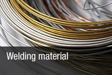 Welding material and tools