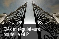 Clés et régulateurs bouteille GLP